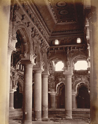 Interior of Palace, Madura